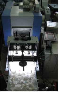 异性纤维检测和剔除装置Heterosexual fiber detection and elimination device